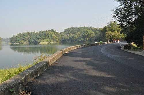 兰潭水库。 (图片提供:tony)