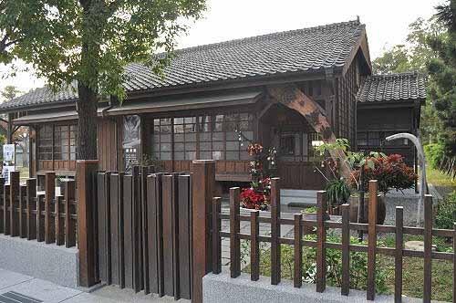 桧意森活村日式宿舍之一。 (图片提供:tony)