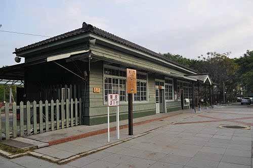 北门驿(北门车站),创建于日治时代大正元年(1912)。 (图片提供:tony)