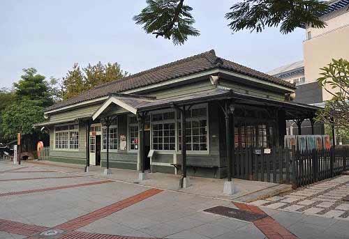 阿里山森林铁路的北门驿(市定古迹)(图片提供:tony)