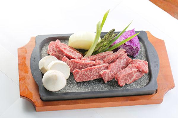 發酵高質雪花牛肉。(大紀元圖片)
