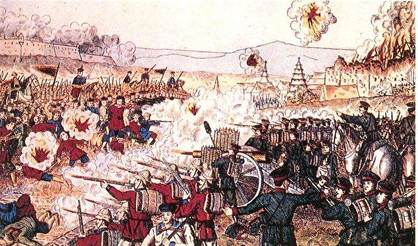 義和團和八國聯軍對峙(公共領域)
