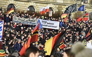 欧洲14城反伊斯兰化游行