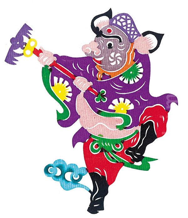 西遊記中的豬八戒由於他的懶惰、貪吃和好色,常常使唐僧師徒陷於困境當中。 (大紀元製圖)