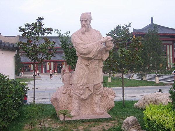 陸羽塑像(公共領域)