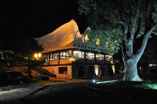 渡假村餐厅(移地训练第二晚。) (图片提供:tony)