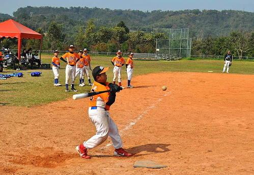 少棒全垒打大赛。 (图片提供:tony)