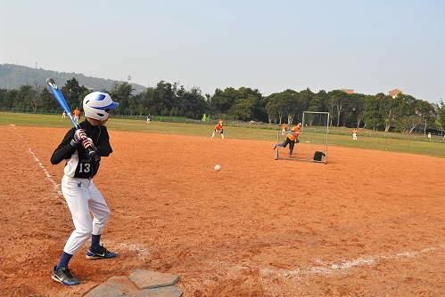 青少棒全垒打大赛。 (图片提供:tony)