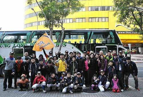 内湖社区移地训练。从台北出发! (图片提供:tony)