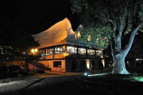 移地训练的第二晚(饭店餐厅)(图片提供:tony)