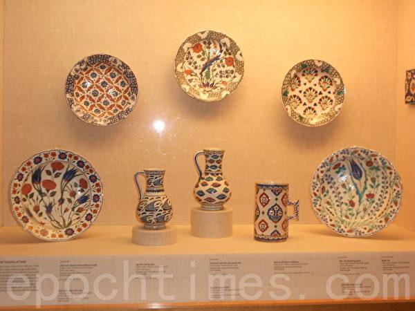 宋代艺术精品展出陶瓷器。(贝拉/大纪元)