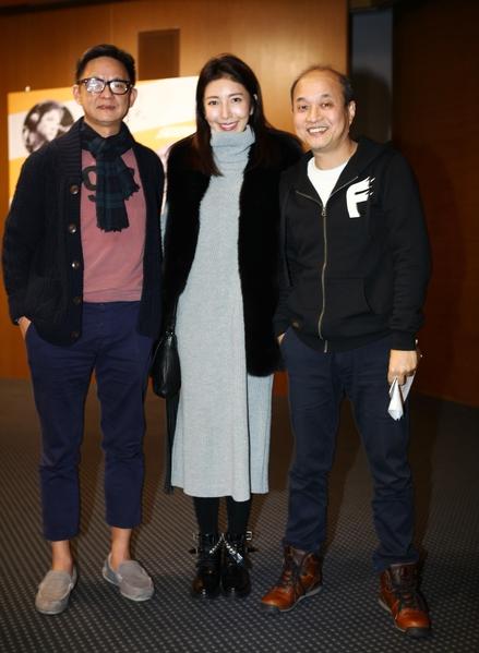 (左起)曹瑞原、杨谨华、郑文堂。(公共电视提供)