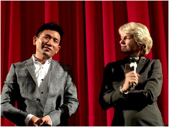 赵德胤回忆拍摄《翡翠之城》期间遇到的困境。(国家电影中心提供)