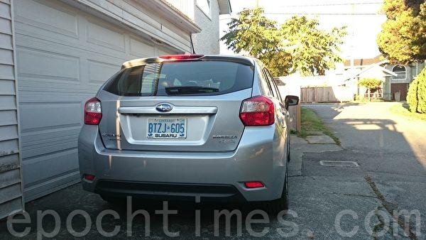 2016 Subaru Impreza Ltd。〈李奥/大纪元〉