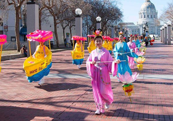 2016年2月旧金山新年游行。(周容/大纪元)