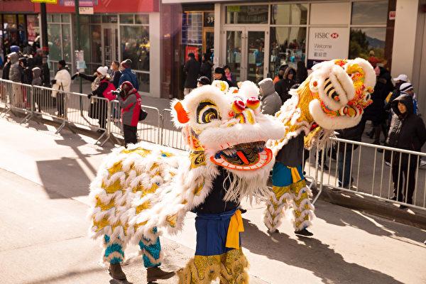 紐約中國新年大遊行,總部設在紐約的「全球退黨服務中心」參加紐約華人社區年度最大盛事——黃曆新年大遊行,共襄盛舉,為民眾送上真摯的美好祝願,願所有的華人民眾擁有美好的未來。(戴兵/大紀元)