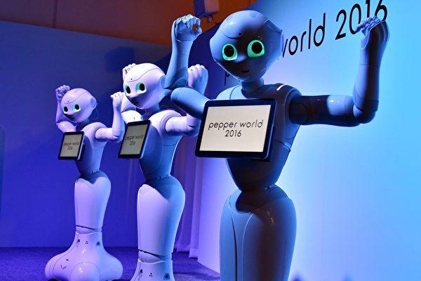 專家警告:30年後機器人將取代50%人工