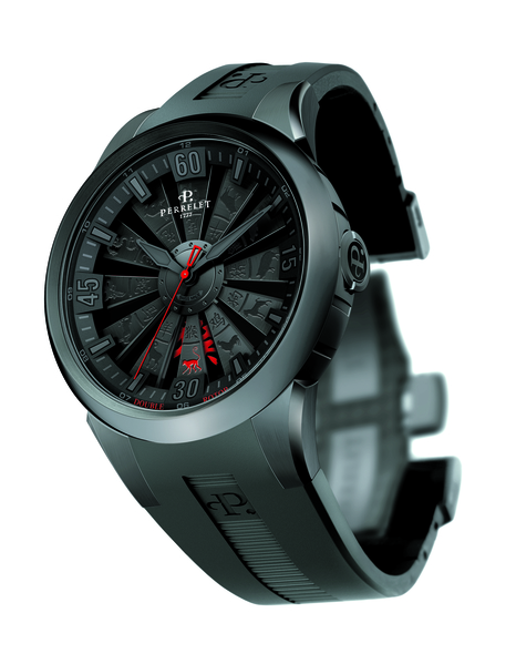 Perrelet猴年生肖涡轮腕表(瑞士Perrelet钟表公司提供)