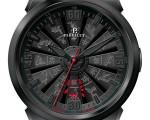 Perrelet猴年生肖渦輪腕表(瑞士Perrelet鐘錶公司提供)