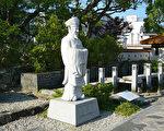 日本徐福公园内的徐福像(公共领域)