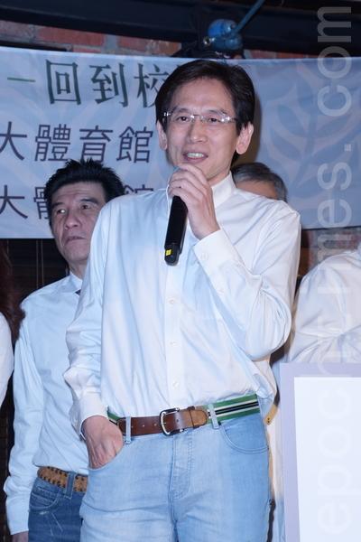 民歌40巡演列车最终站回到校园于2016年2月17日在台北举行记者会。图为殷正洋。(黄宗茂/大纪元)