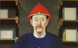 1699年康熙帝读书像(45岁)(公共领域)