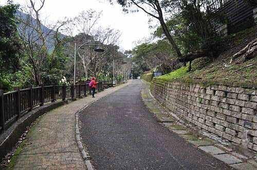 乌来瀑布公园入口。 (图片提供:tony)