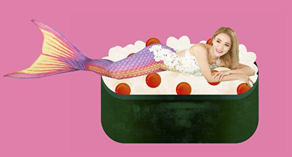 丁当推出第八张专辑,在第二波专辑概念照中化身亮丽美人鱼。(相信音乐提供)
