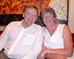 2016年2月23日晚,William Berryman、Wendy Ritchie夫婦在澳大利亞墨爾本藝術中心觀看了神韻演出。(紀芸/大紀元)