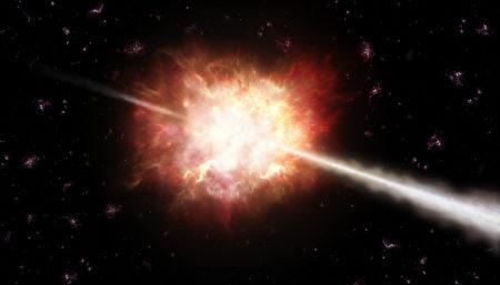 最遥远的伽马射线大爆炸 By ESO A. Roquette(公共领域)