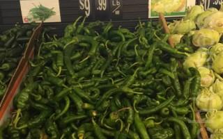纽约牛角椒涨到每磅10美元 民众吃不起