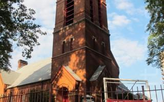 紐約法拉盛邦恩街社區教堂或列古蹟
