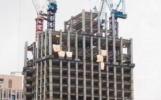 台经院:营建业景气连3月下滑