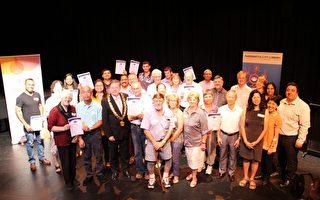 83名義工在帕拉馬塔圖書館為帶給社區的各項服務提供了重要的支持。(市府提供)