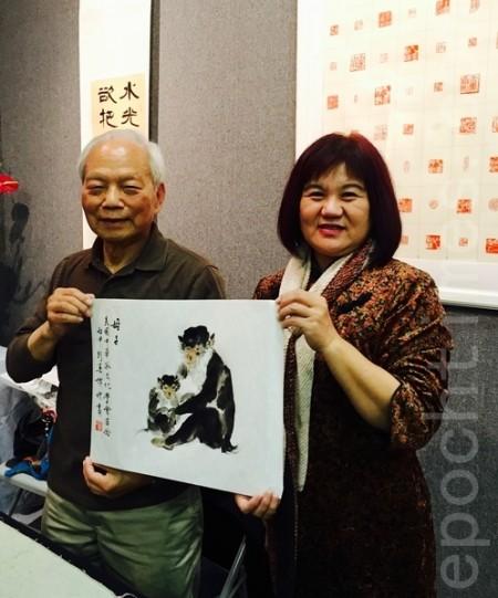 中華茶文化學會「茶藝花藝書畫聯展」