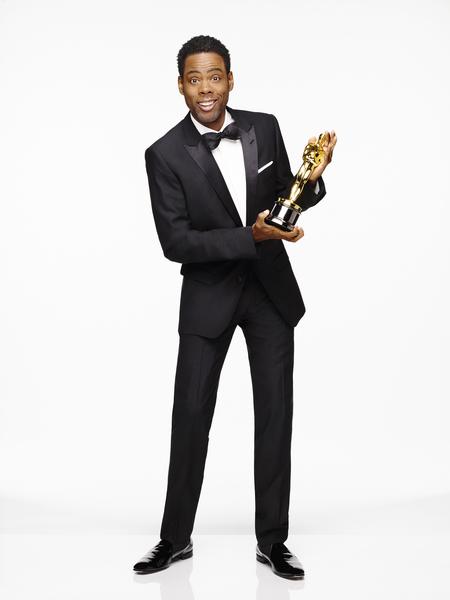 今年頒獎典禮由黑人演員克里斯‧洛克(Chris Rock)擔綱。(台視提供)