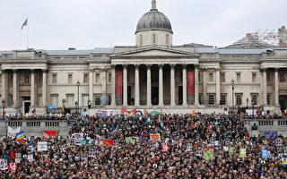 數萬人倫敦反核武示威
