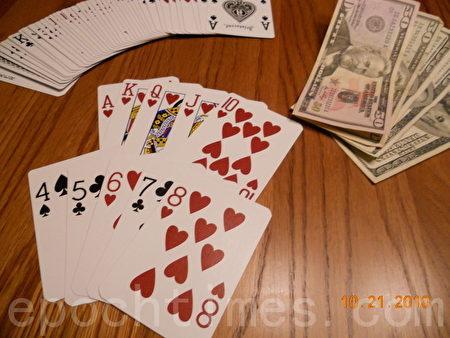 在阿拉巴马州,买扑克牌要多付10美分的税。(摄影:萧财英 / 大纪元)