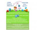 """纽约市警察局109分局将举办第二届""""推特找彩蛋活动""""(twitter egg hunt),局长康福迪(Thomas conforti)将通过109分局的官方推特(Twitter)账号@NYPD109PCT发布找蛋线索。(市警109分局提供)"""