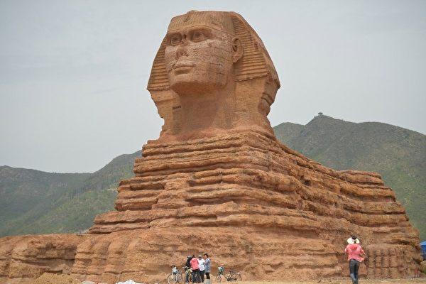 """埃及古文明?火星上惊现""""狮身人面像"""""""