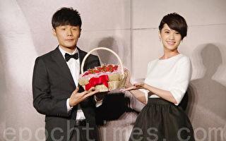 楊丞琳(右)與李榮浩資料照。(黃宗茂/大紀元)