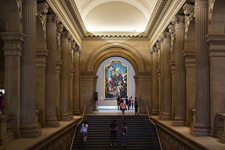 大都会博物馆在曼哈顿靠近中央公园旁,有超过200万件艺术品,为缤纷纽约增添丰富的文化色彩。(Spencer Platt/Getty Images)