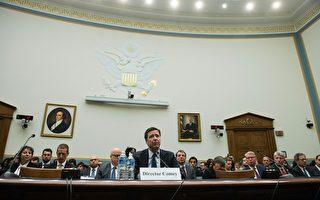 内部消息人士透露,联邦调查局(FBI)局长詹姆斯‧科米(James Comey)将继续留任局长一职。图为科米早前在国会作证。(NICHOLAS KAMM/AFP/Getty Images)