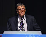 全球首富是北美的比爾.蓋茲(Bill Gates)。(Dimitrios Kambouris/Getty Images)