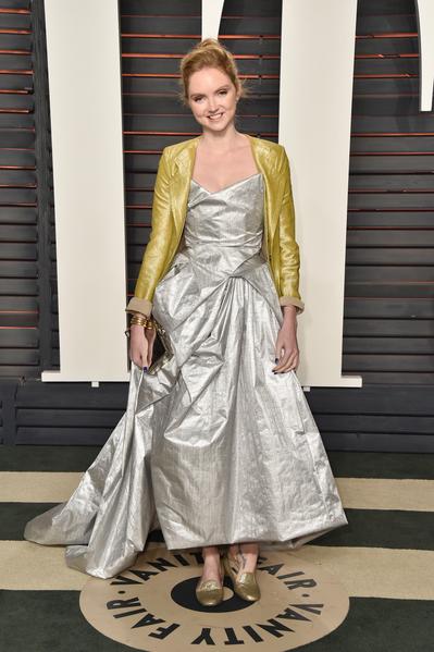 2016年2月28日,莉莉‧科爾出席《名利場》奧斯卡晚會。(Pascal Le Segretain/Getty Images)