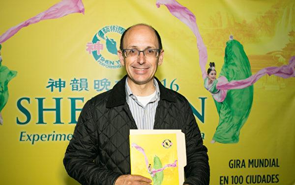 普埃布拉市旅游局局长Alejandro Canedo Priesca(李莎/大纪元)