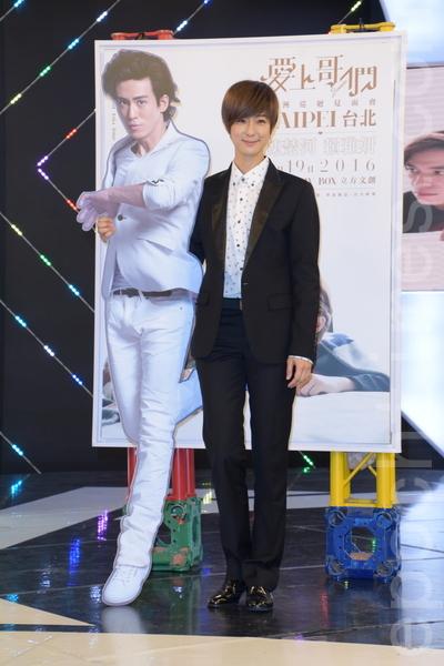 賴雅妍在記者會上宣告將舉辦售票見面會,目前內容還在策畫中。(黃宗茂/大紀元)