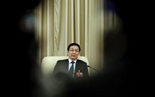 圖為2016年3月兩會上的上海市委書記韓正。(Lintao Zhang/Getty Images)