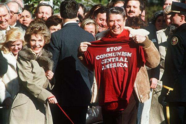 組圖:美前總統里根和妻子南希的歷史照片