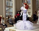 2016年3月10日,巴黎裝飾娃娃博物館舉行名為「芭比娃娃,偶像生活」的盛大展覽。(Thierry Chesnot/Getty Images)